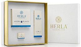Düfte, Parfümerie und Kosmetik Gesichtspflegeset - Herla Hydra Plants I (Tagescreme 50ml + Tagescreme 5ml + Serum 30ml)