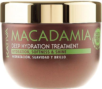 Intensiv feuchtigkeitsspendende Maske für normales und strapaziertes Haar - Kativa Macadamia Deep Hydrating Treatment — Bild N6