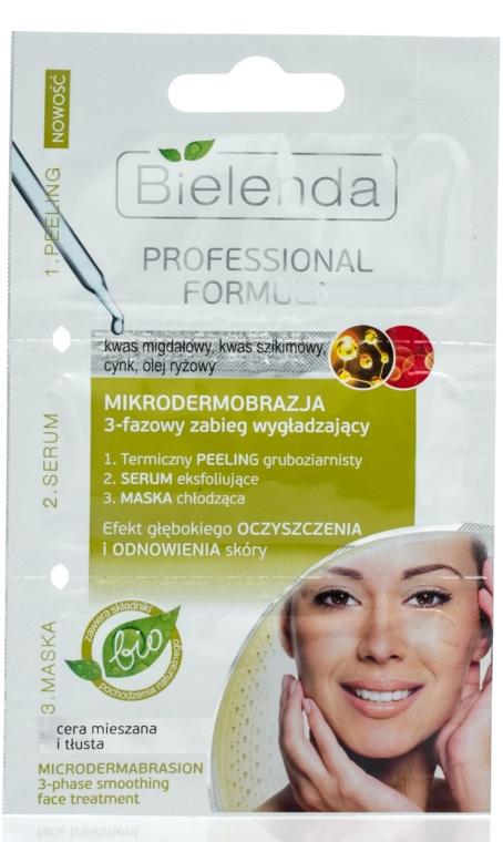 Glättende Gesichtsmaske Mikrodermabrasion - Bielenda Professional Formula — Bild N1