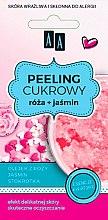 Düfte, Parfümerie und Kosmetik Zuckerpeeling für Gesicht mit Rosenöl und Jasmin - AA Cosmetics Sugar Scrub Rose Peeling