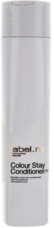 Schützende und feuchtigkeitsspendende Haarspülung für gefärbtes Haar - Label.m Colour Stay Conditioner — Bild N1