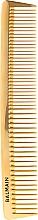 Düfte, Parfümerie und Kosmetik Professioneller Frisur-Kamm gold - Balmain Paris Hair Couture Golden Cutting Comb