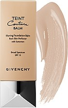Düfte, Parfümerie und Kosmetik Foundation mit Sonnenschutz LSF 15 - Givenchy Teint Couture Blurring Foundation Balm Broad Spectrum 15
