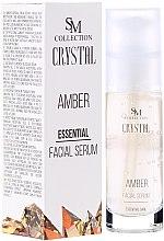 Düfte, Parfümerie und Kosmetik Essentielles Gesichtsserum Bernstein - Hristina Cosmetics SM Crystal Amber Facial Serum