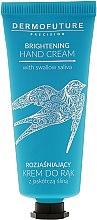 Düfte, Parfümerie und Kosmetik Auhellende Handcreme mit Aminosäuren und Mineralien - Dermofuture Brightening Hand Cream