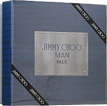 Düfte, Parfümerie und Kosmetik Jimmy Choo Man Blue - Duftset (Eau de Toilette/100ml + After Shave Balsam/100ml + Mini/7,5ml)