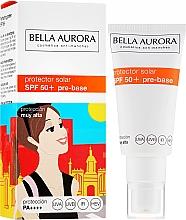 Düfte, Parfümerie und Kosmetik Sonnenschutzcreme SPF 50+ Vor-Basis für Make-Up - Bella Aurora Protector Solar Pre-Base SPF 50+