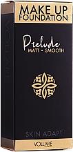 Düfte, Parfümerie und Kosmetik Mattierende und glättende Foundation - Vollare Prelude Smoothing & Mattifying Make Up Foundation