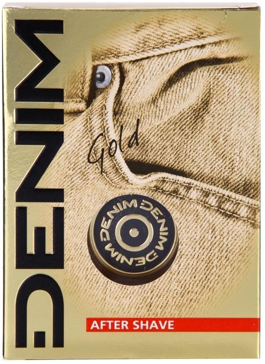 Denim Gold After Shave Lotion - After Shave Lotion — Bild N1