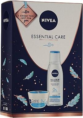 Gesichtspflegeset - Nivea Essential Care (Creme 50ml + Mizellen-Reinigungswasser 200ml) — Bild N1