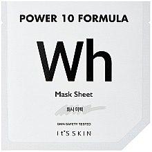 Düfte, Parfümerie und Kosmetik Schützende Tuchmaske mit Kamillenextrakt - It's Skin Power 10 Formula Mask Sheet WH