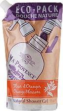 Düfte, Parfümerie und Kosmetik Duschgel in Eco Pack mit ätherischen Ölen und Orangenblüten - Ma Provence Shower Gel Orange