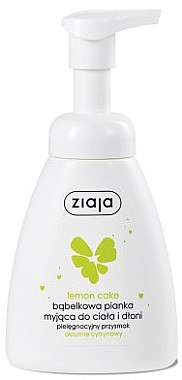 Waschschaum für Körper und Hände mit Zitronenkuchenduft - Ziaja — Bild N1
