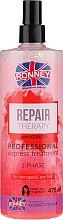 Düfte, Parfümerie und Kosmetik Zwei-Phasen-Spray für strapaziertes und trockenes Haar - Ronney Repair Therapy Professional Express Treatment 2-Phase