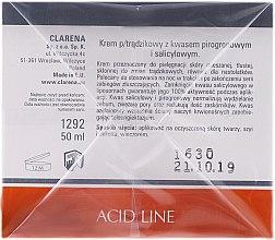 Gesichtscreme mit Salicyl- und Brenztraubensäure - Clarena Liposome Pyruvic Acid Salicylic & Cream — Bild N3