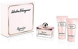 Düfte, Parfümerie und Kosmetik Salvatore Ferragamo Signorina - Duftset (Eau de Parfum 50ml + Duschgel 50ml + Körperlotion 50ml)
