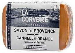 Düfte, Parfümerie und Kosmetik Seife Zimt und Orange - La Corvette Provence soap Cinnamon-Orange