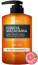 Düfte, Parfümerie und Kosmetik Duschgel mit rosa Grapefruit - Kundal Honey & Macadamia Body Wash Pink Grapefruit