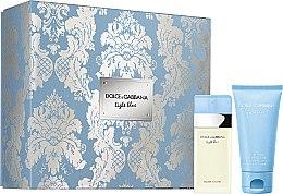 Düfte, Parfümerie und Kosmetik Dolce & Gabbana Light Blue - Duftset (Eau de Toilette 25ml + Körpercreme 50ml)