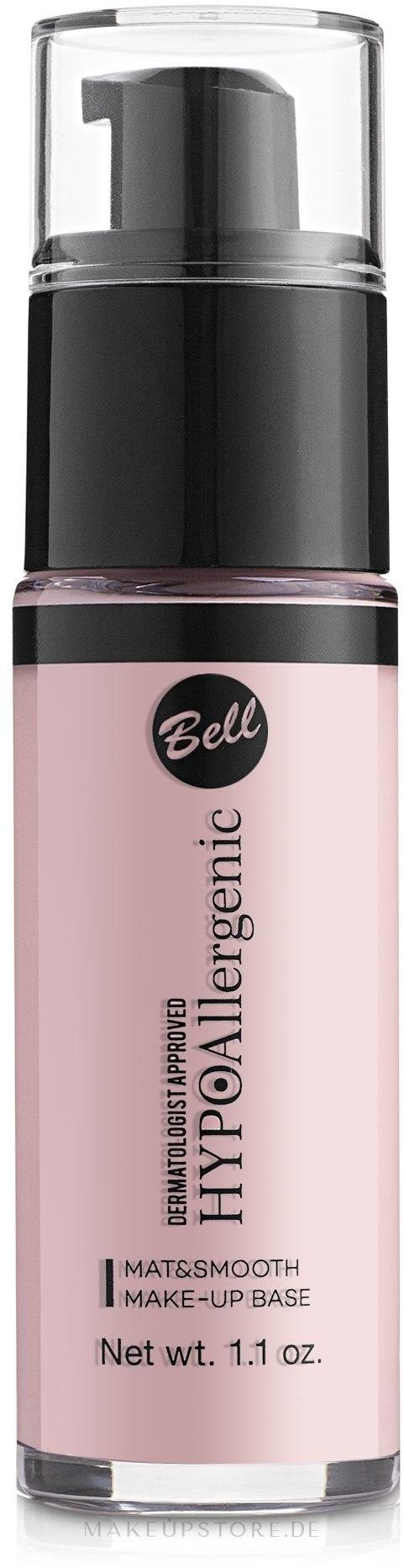 Make-up Base - Bell Hypo Allergenic Mat&Smooth Make-Up Base — Bild 01 - Ivory