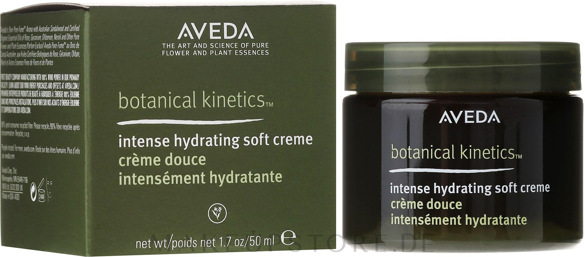 Intensiv feuchtigkeitsspendende leichte Gesichtscreme - Aveda Botanical Kinetics Intense Hydrating Soft Creme — Bild 50 ml