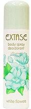 Düfte, Parfümerie und Kosmetik Deospray - Extase White Flowers Deodorant