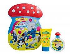 Düfte, Parfümerie und Kosmetik Marmol & Son The Smurfs Clumsy - Duftset (Eau de Toilette 50ml + Badeschaum 75ml)