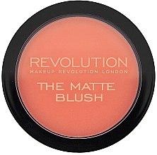 Düfte, Parfümerie und Kosmetik Mattierendes Rouge - Makeup Revolution The Matte Blush