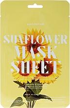 Düfte, Parfümerie und Kosmetik Kühlende Tuchmaske mit Sonnenblumenextrakt - Kocostar Slice Mask Sheet Sunflower