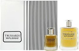 Düfte, Parfümerie und Kosmetik Trussardi Riflesso - Duftset (Eau de Toilette 100ml + Eau de Toilette 30ml)