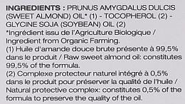 Süßmandelöl für das Gesicht - Melvita Huiles De Beaute Sweet Almond Oil — Bild N3