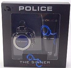 Düfte, Parfümerie und Kosmetik Police The Sinner Love The Excess Man - Duftset (Eau de Toilette 30ml + Duschgel 100ml)