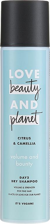 Trockenshampoo für feines Haar mit Zitrusfrüchten und Kamelien - Love Beauty And Planet Citrus & Camellia Dry Shampoo — Bild N1