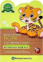 Düfte, Parfümerie und Kosmetik Anti-Falten Gesichtsmaske Tiger - Belleza Castillo Edge Cutimal Tiger Anti-Wrinkle Mask