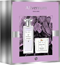 Düfte, Parfümerie und Kosmetik Allvernum Iris & Patchouli - Duftset (Eau de Parfum 50ml + Duftkerze 100g)