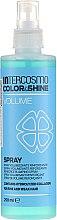 Düfte, Parfümerie und Kosmetik Haarspray für mehr Volumen ohne Ausspülen - Intercosmo Color & Shine Volume Spray