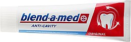 Zahnpasta Anti-Cavity Original - Blend-a-med Anti-Cavity Original Toothpaste — Bild N2