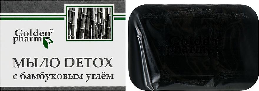 Detox-Seife mit Bambuskohle - Golden Pharm — Bild N1