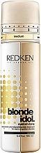Düfte, Parfümerie und Kosmetik Zweiphasige Intensivfarbpflege für alle Blondtöne - Redken Blonde Idol Custom-Tone Conditioner Gold