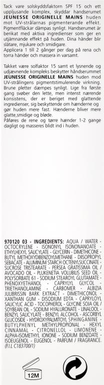 Aufhellendes Handserum SPF 15 - Carita Haute Beaute Corps Hand Cream SPF 15 — Bild N3