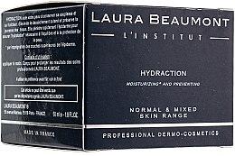 Düfte, Parfümerie und Kosmetik Feuchtigkeitsspendende und pflegende Tagescreme für normale und Mischhaut - Laura Beaumont Hydraction Day Care