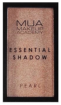 Lidschatten - MUA Essential Shadow Pearl — Bild N1