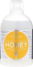Düfte, Parfümerie und Kosmetik Regenerierendes Shampoo mit natürlichem Honigextrakt - Kallos Cosmetics Honey Shampoo