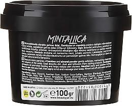 Erfrischendes Kopfhautpeeling mit Bambus- und Mandelpulver, Menthol, Aktivkohle und Eukalyptusöl - Beauty Jar Mintallica Refreshing Scalp Scrub — Bild N2