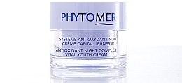 Düfte, Parfümerie und Kosmetik Antioxidative Nachtcreme - Phytomer Antioxidant Night Complex Vital Youth Cream