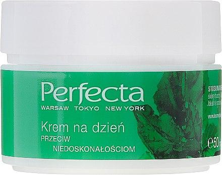 Feuchtigkeitsspendende und mattierende Tagescreme gegen Unvollkommenheiten - Perfecta Your Time is Green — Bild N2