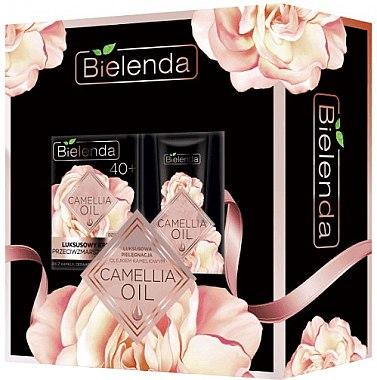 Gesichtspflegeset 40+ - Bielenda Camellia Oil (Creme 50 ml + Augencreme 15 ml) — Bild N1