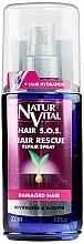Düfte, Parfümerie und Kosmetik Reparierendes Spray gegen Haarausfall mit Weizenproteinen, Ginseng-Extrakt, Honig und Provitamin B5 - Natur Vital Hair Rescue Repair Spray