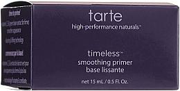 Düfte, Parfümerie und Kosmetik Glättender Gesichtsprimer - Tarte Cosmetics Timeless Smoothing Primer