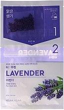 Düfte, Parfümerie und Kosmetik Tuchmaske mit Lavendelextrakt - Holika Holika Brewing Tea Bag Mask Lavender